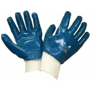 Перчатки нитриловые, манжет резинка