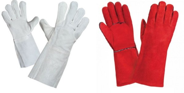 Для чего нужны перчатки спилковые комбинированные утепленные