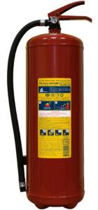 Огнетушитель порошковый ОП-10(з) МИГ
